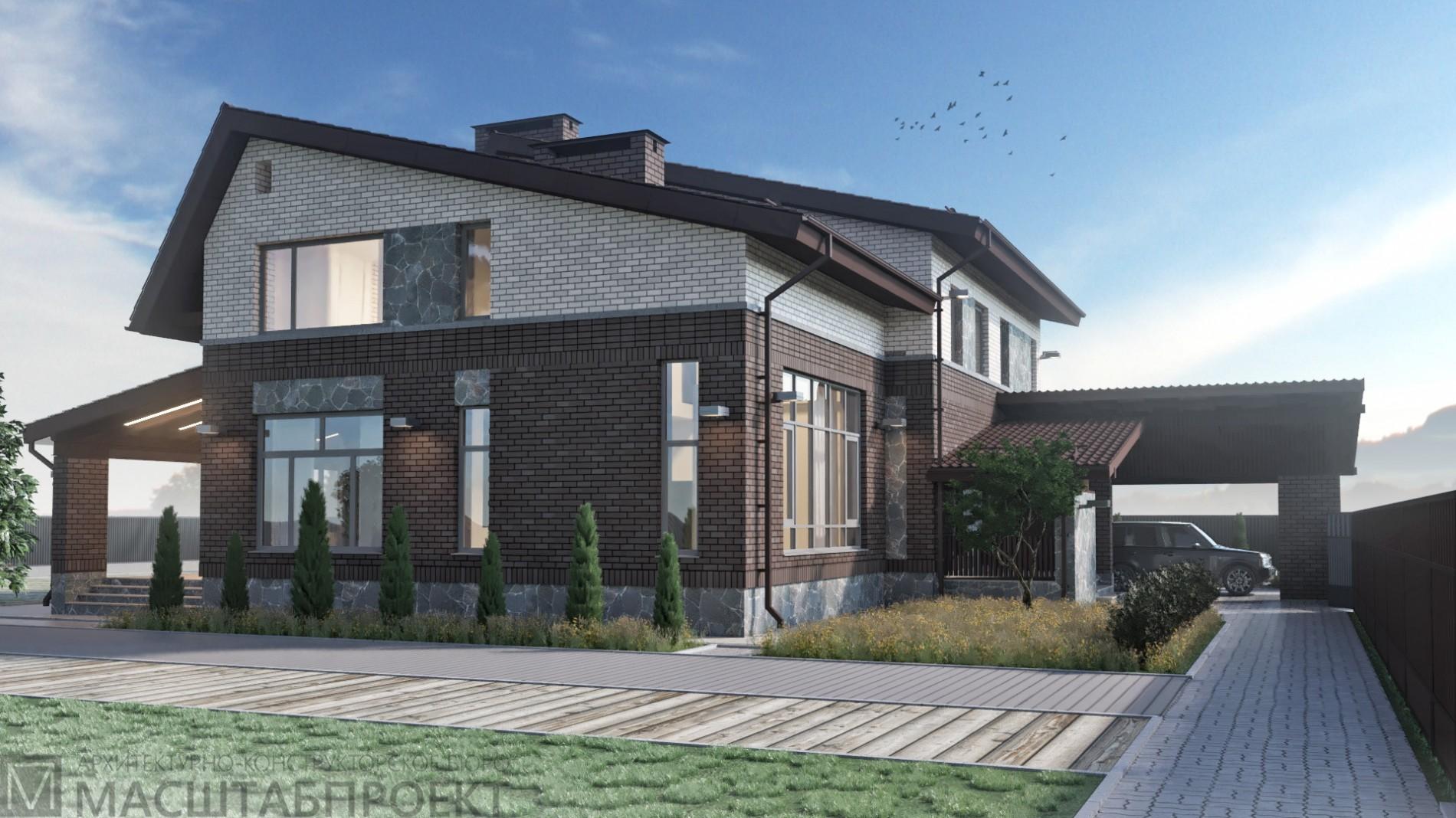 Частный дом в клубном посёлке