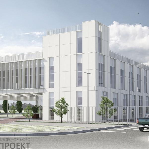 Офисное здание по ул. Менделеева в г. Тюмени