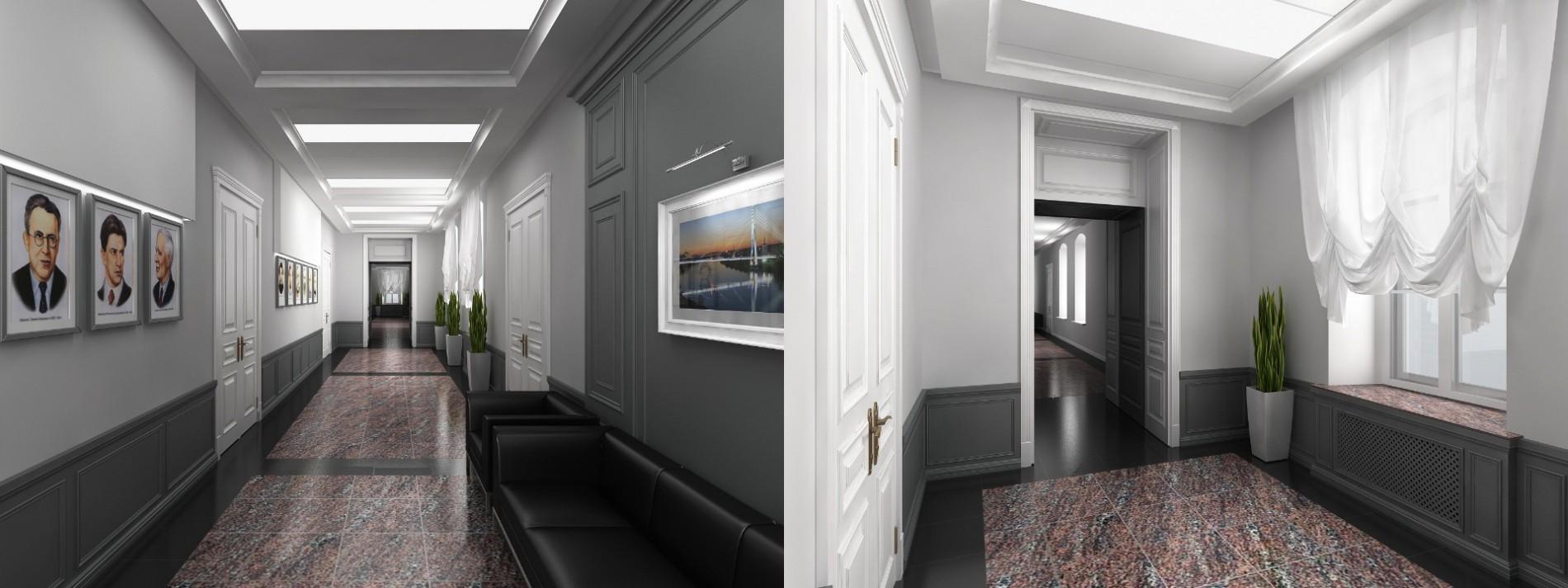 Дизайн офисного пространства в г. Тюмени