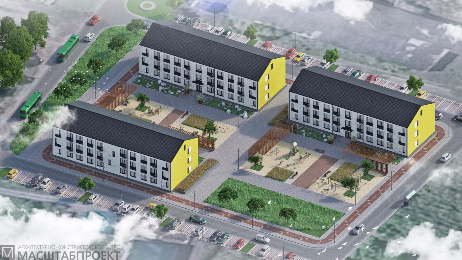 Многоквартирные жилые дома по ул. Нагорная